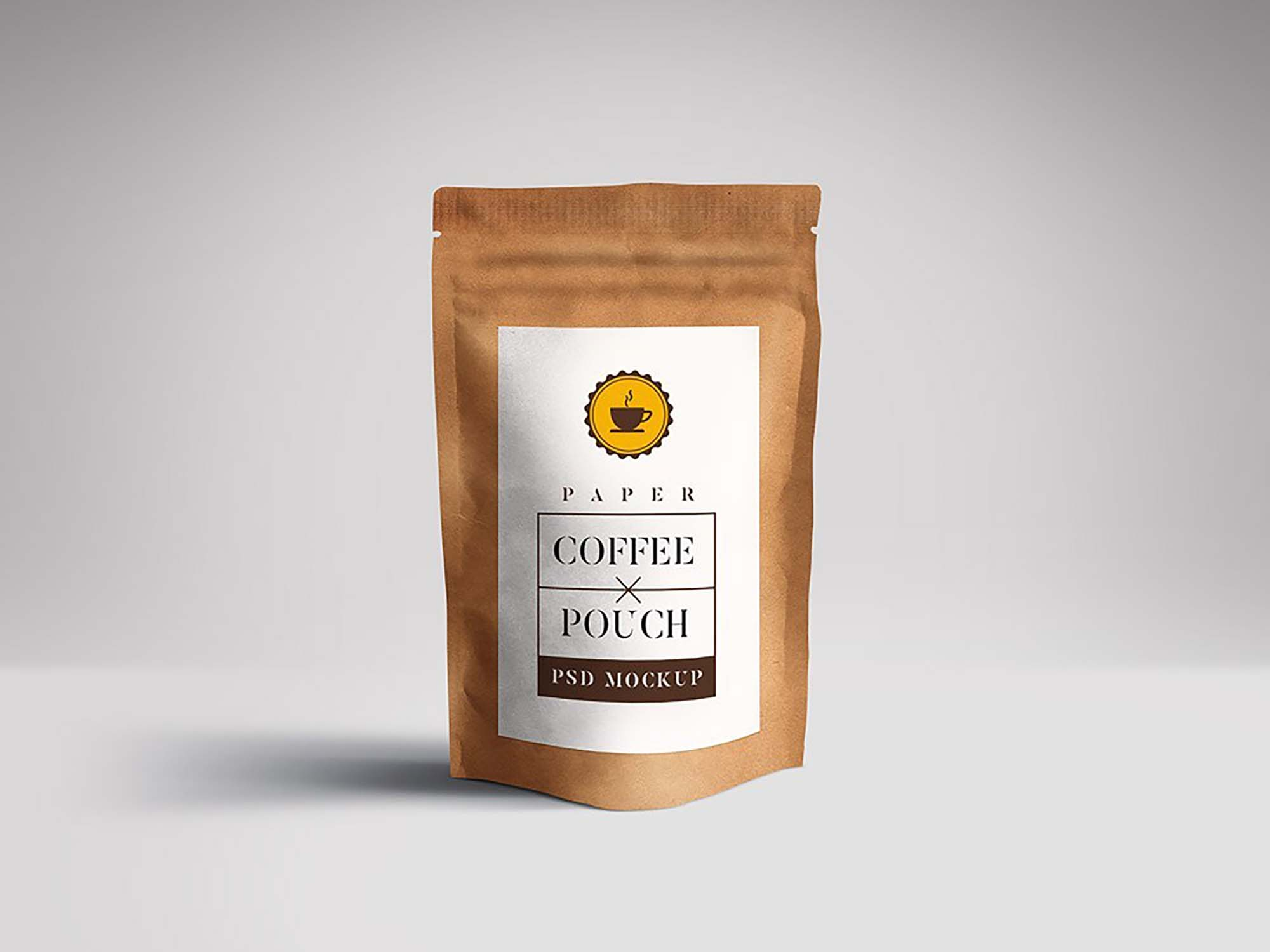 Paper Pouch Packaging Mockup 2