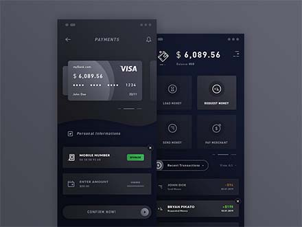 Payments & Wallet App Template