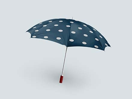 Realistic Umbrella Mockup
