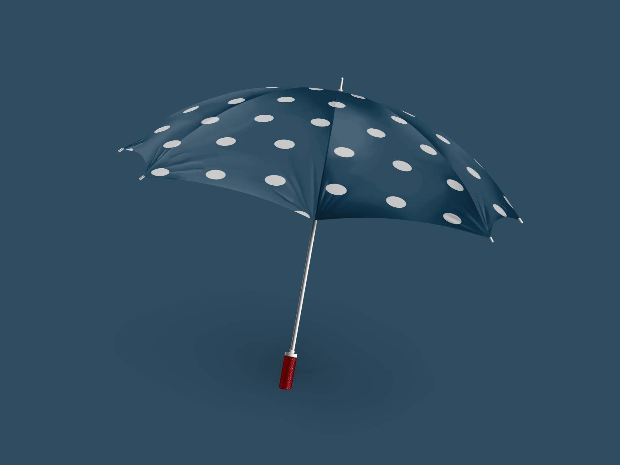 Realistic Umbrella Mockup 2