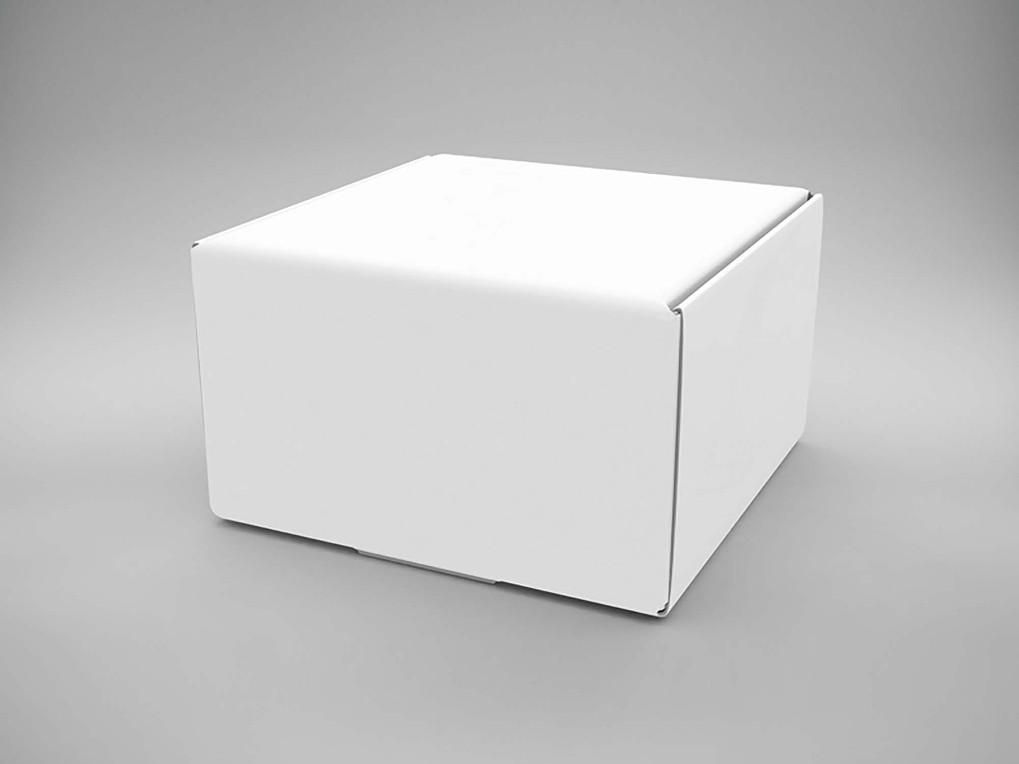 Square Box Mockup PSD