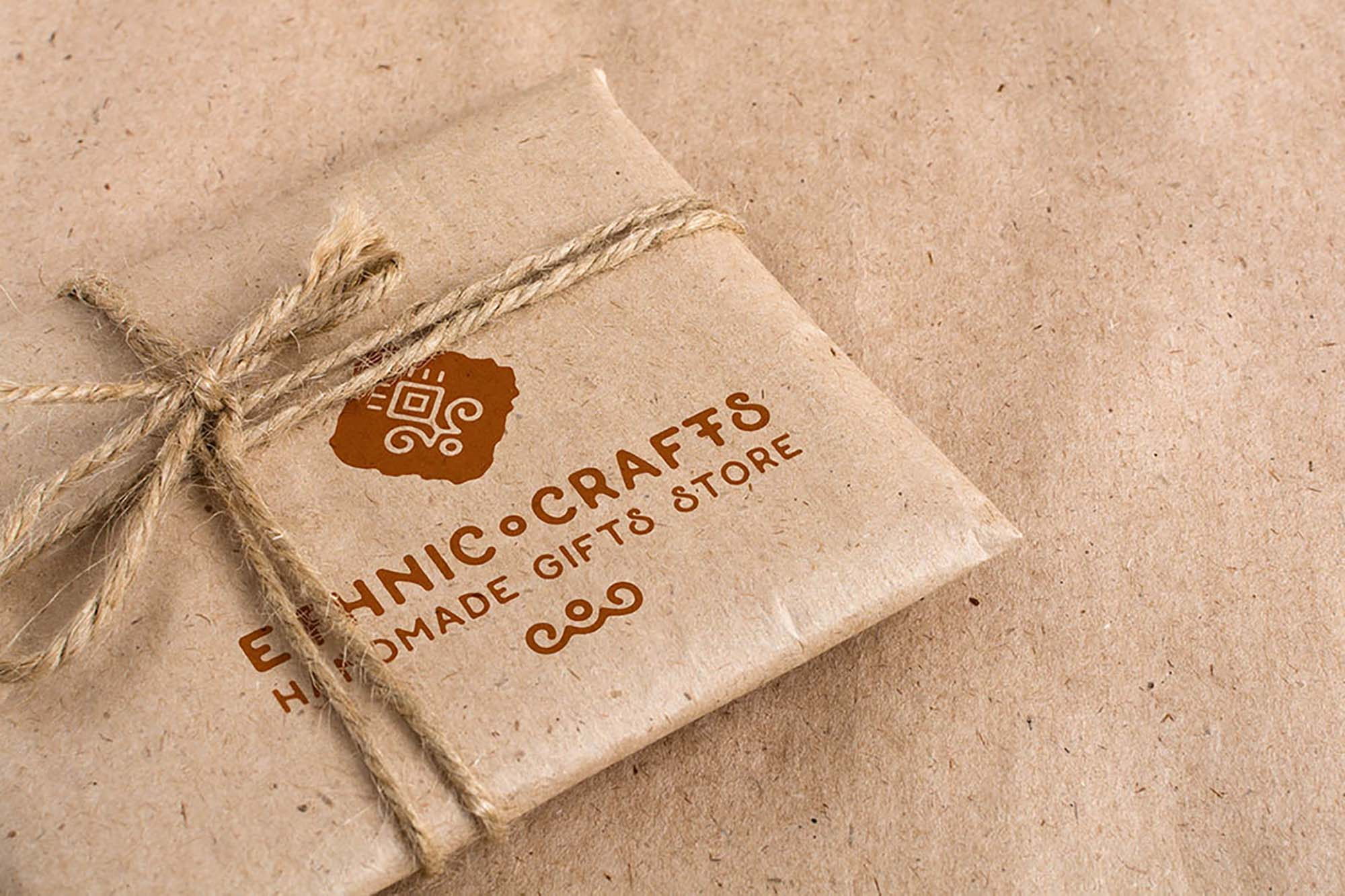 Vintage Craft Package Mockups