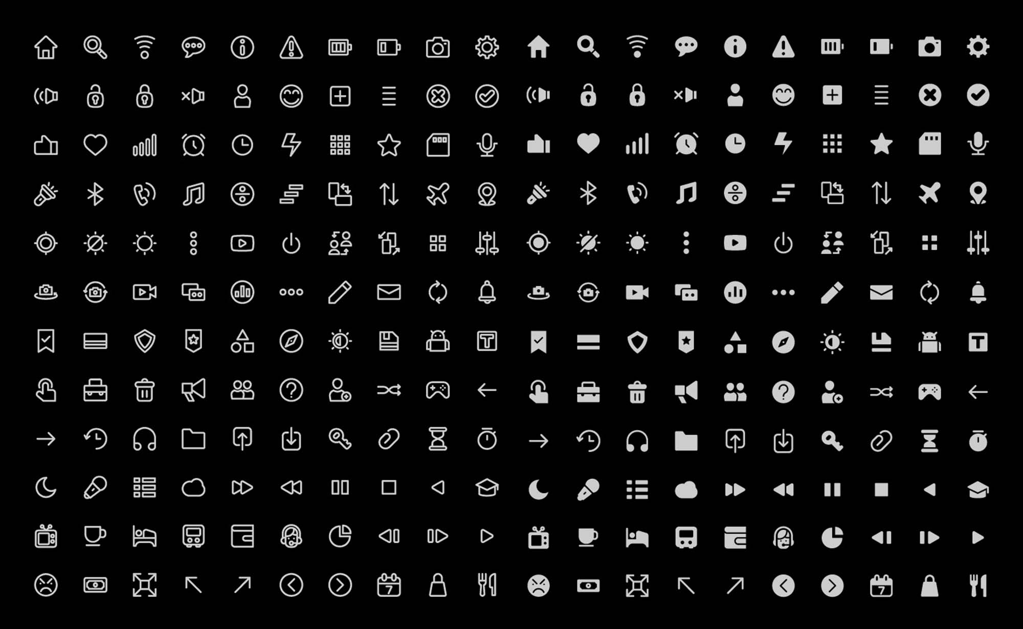 120 UI Pack Icons
