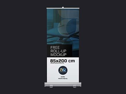 85x200 CM Rollup Mockup