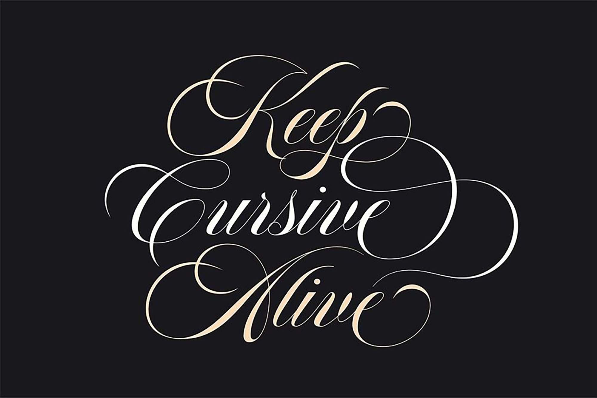 Aston Calligraphy Font 7