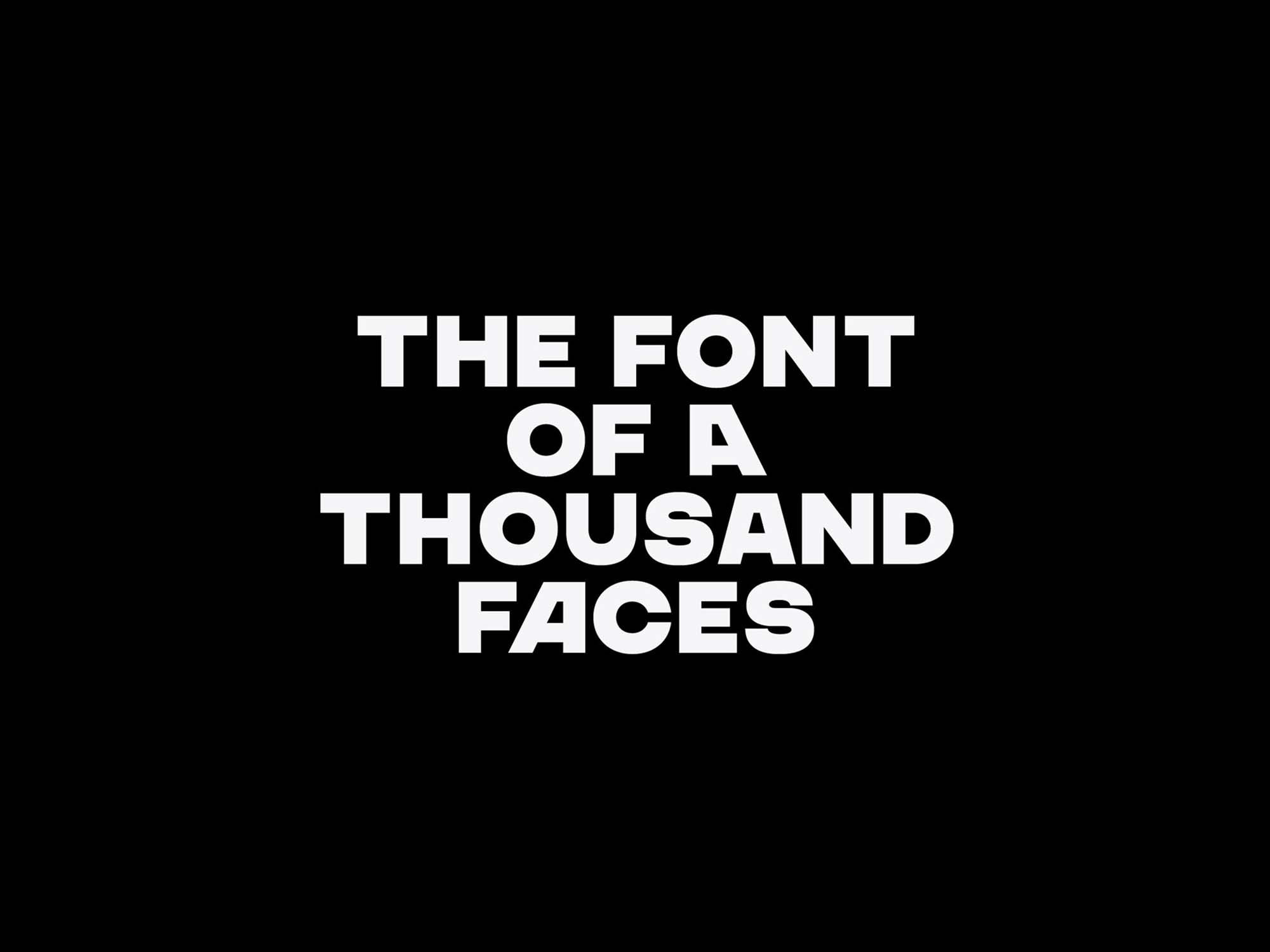 Chaney Sans Font 1
