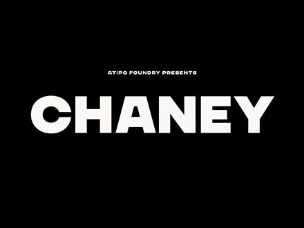 Chaney Sans Font