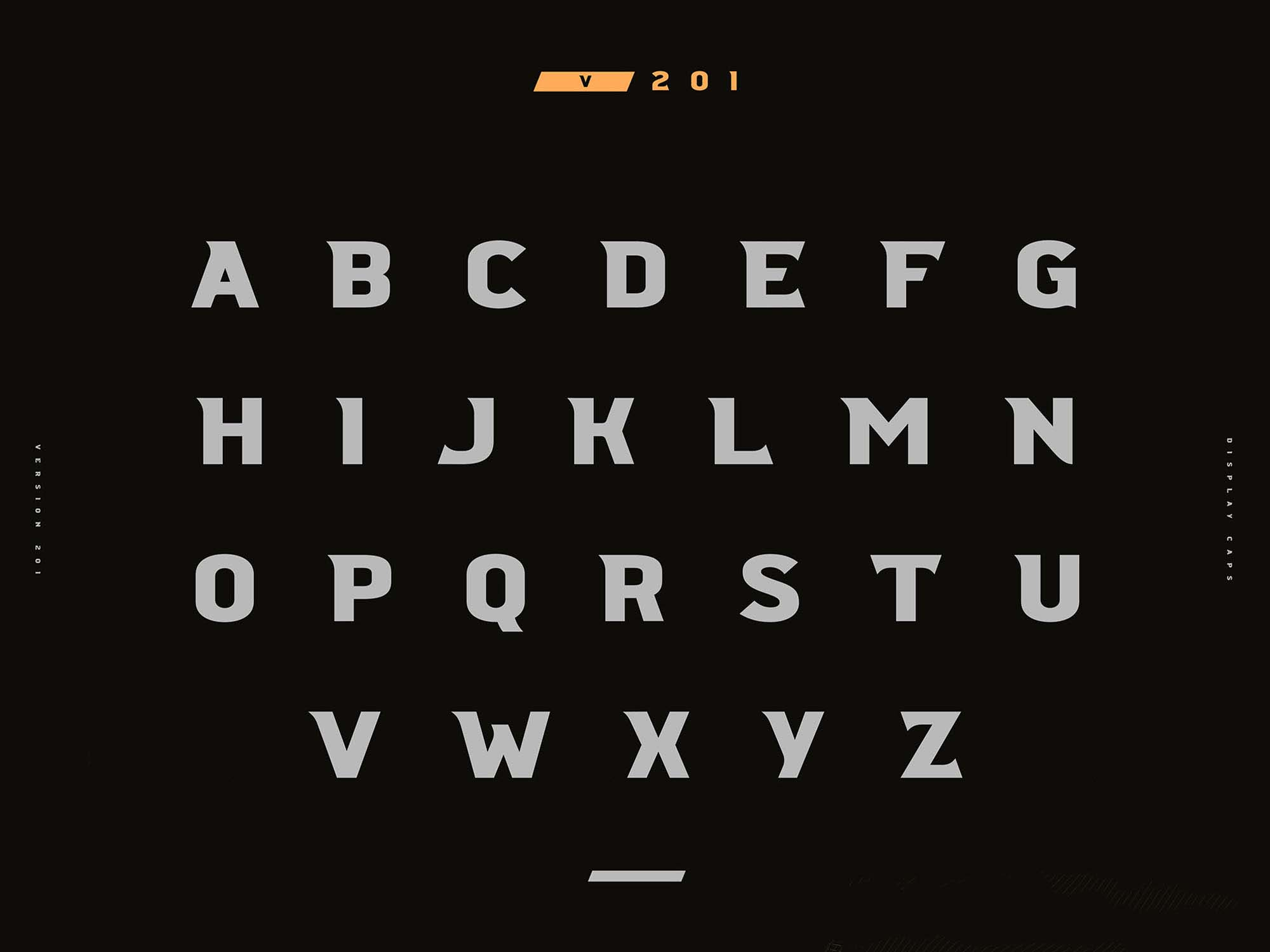 Crossfit Font Family Uppercase Letters