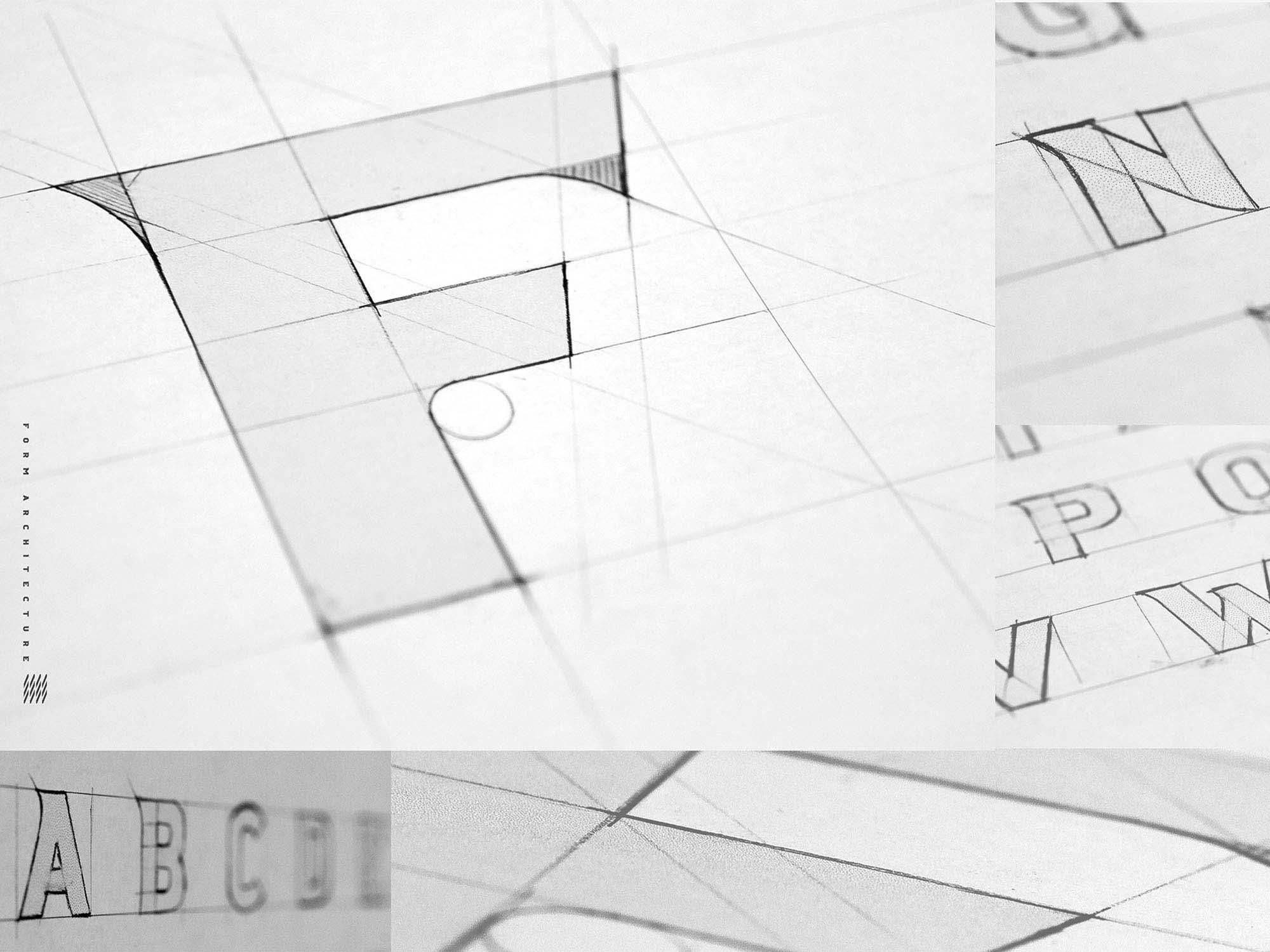 Crossfit Font Sketches