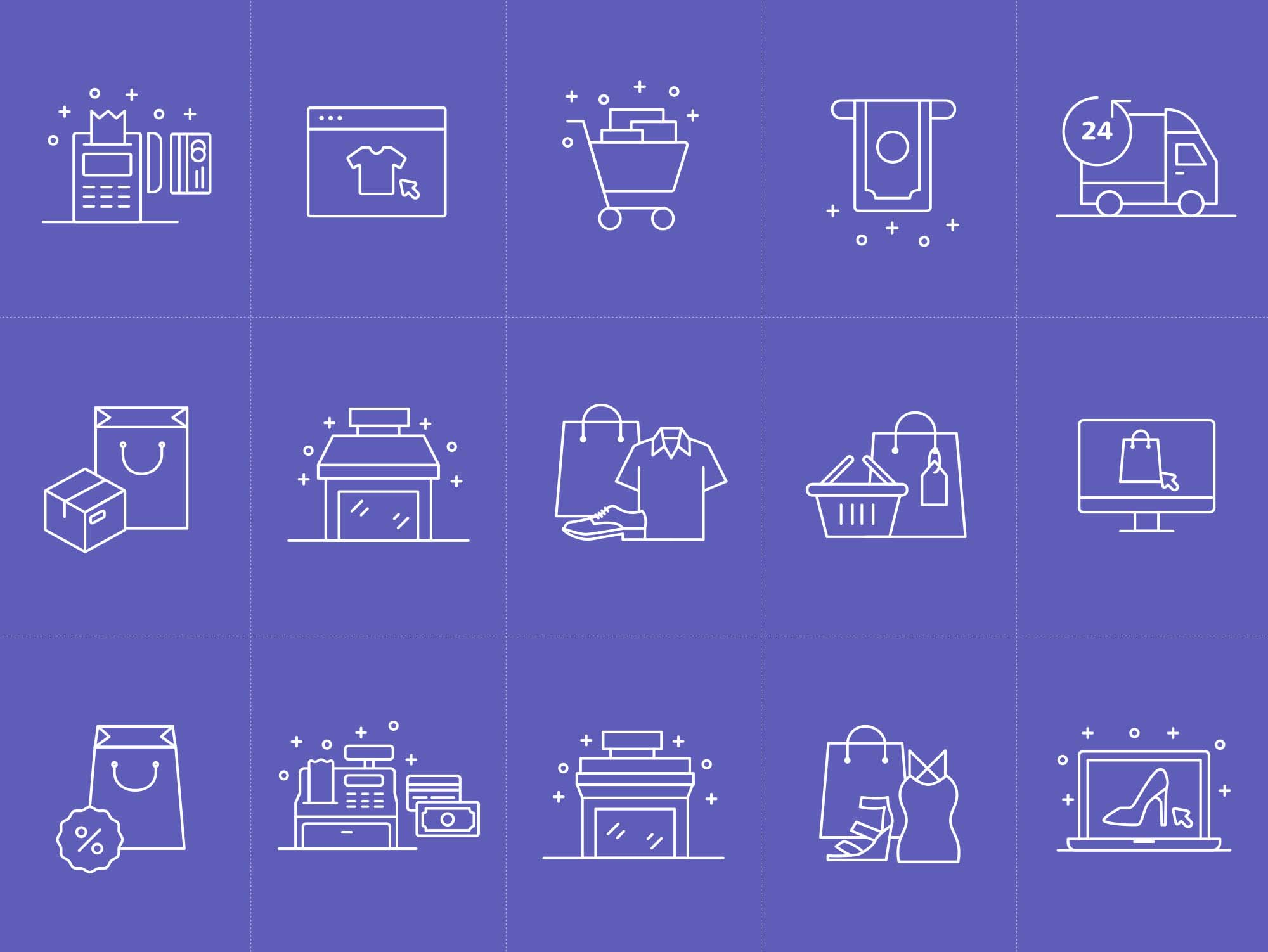 E-commerce Vector Icons