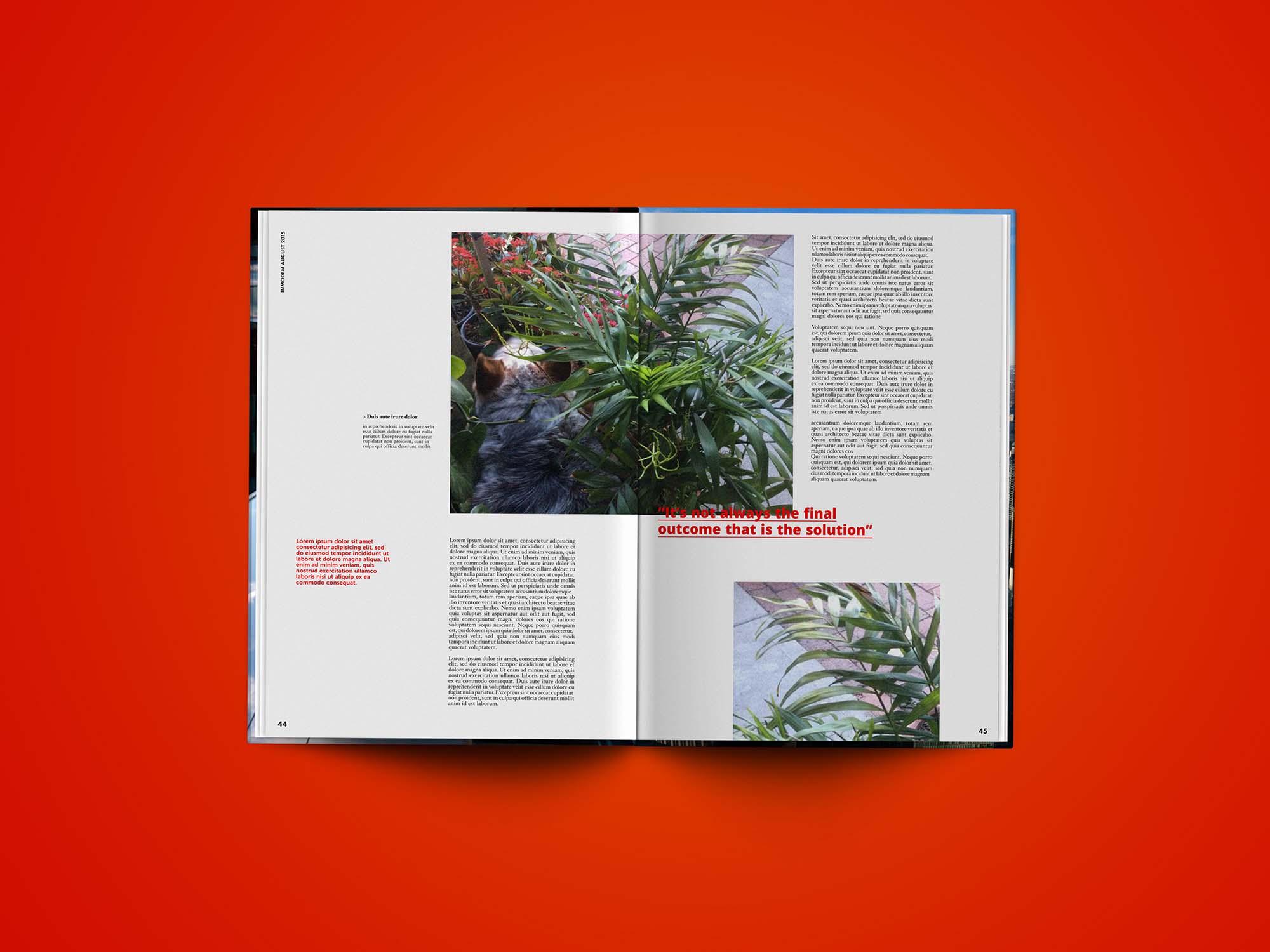 Editorial Magazine Template 1