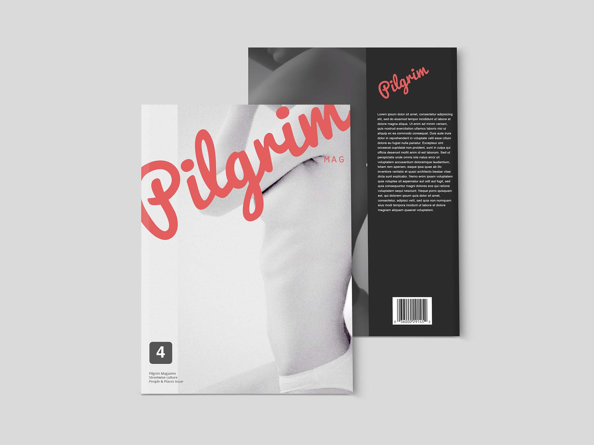 Editorial Magazine Template 9