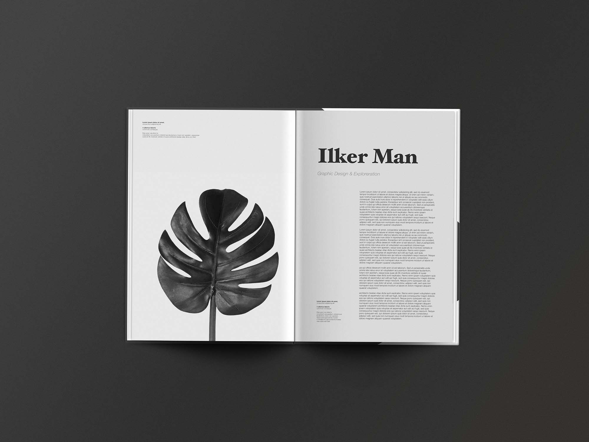 Editorial Magazine Template 3