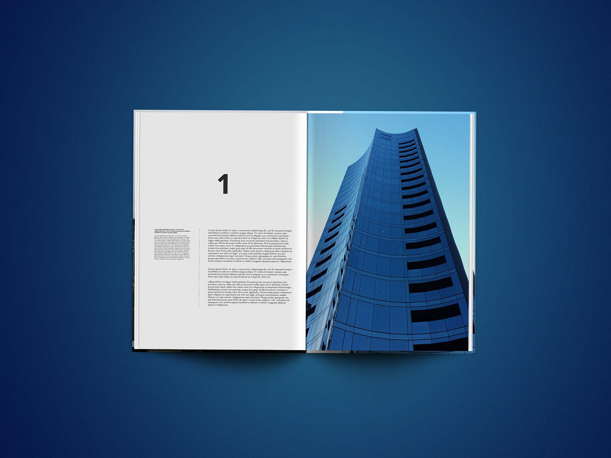 Editorial Magazine Template 6