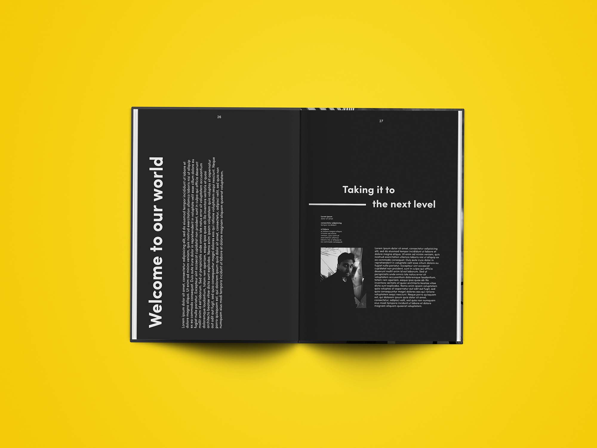 Editorial Magazine Template 7