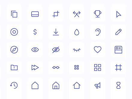 Fully Customizable Vector Icons