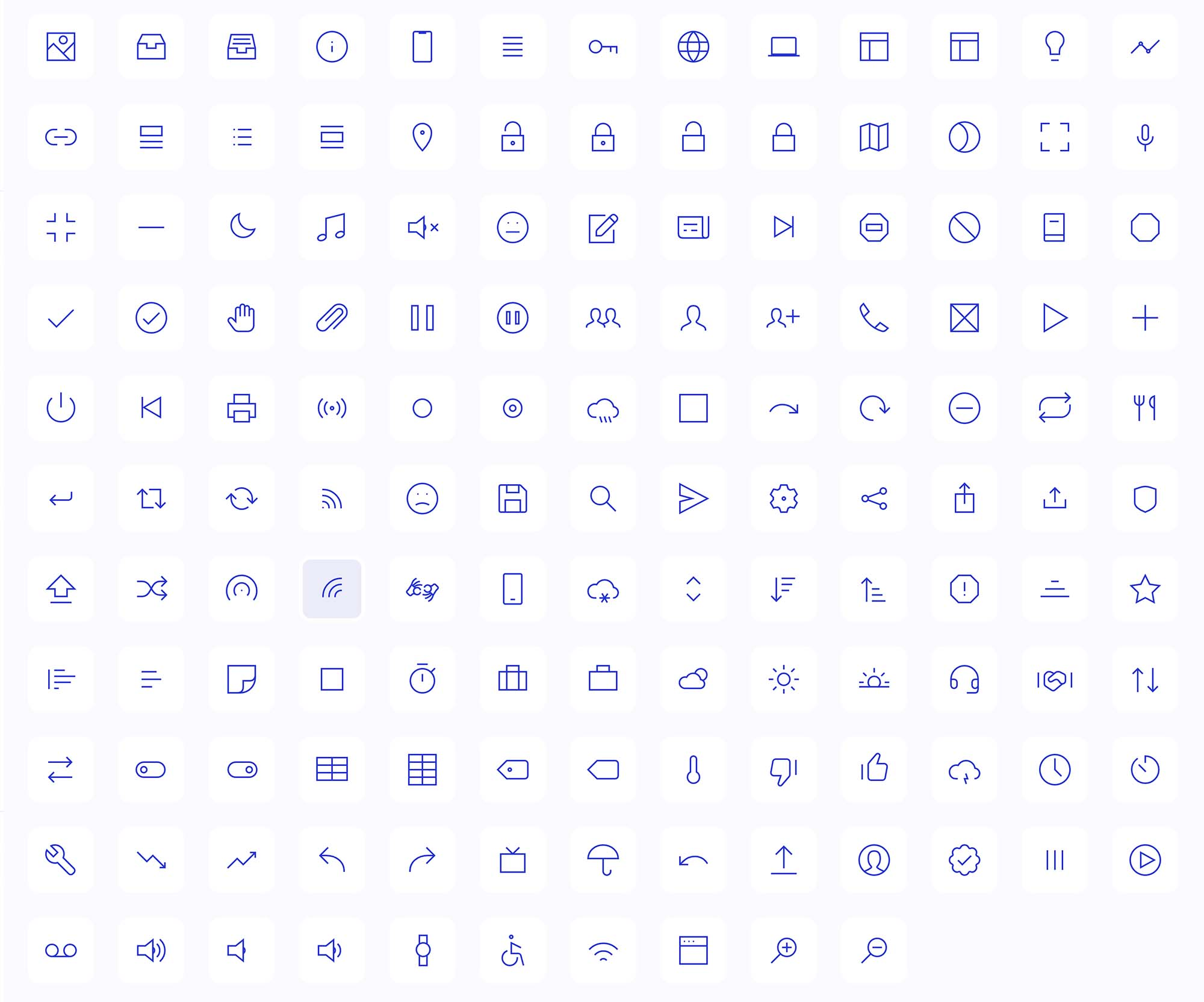 Fully Customizable Vector Icons 2