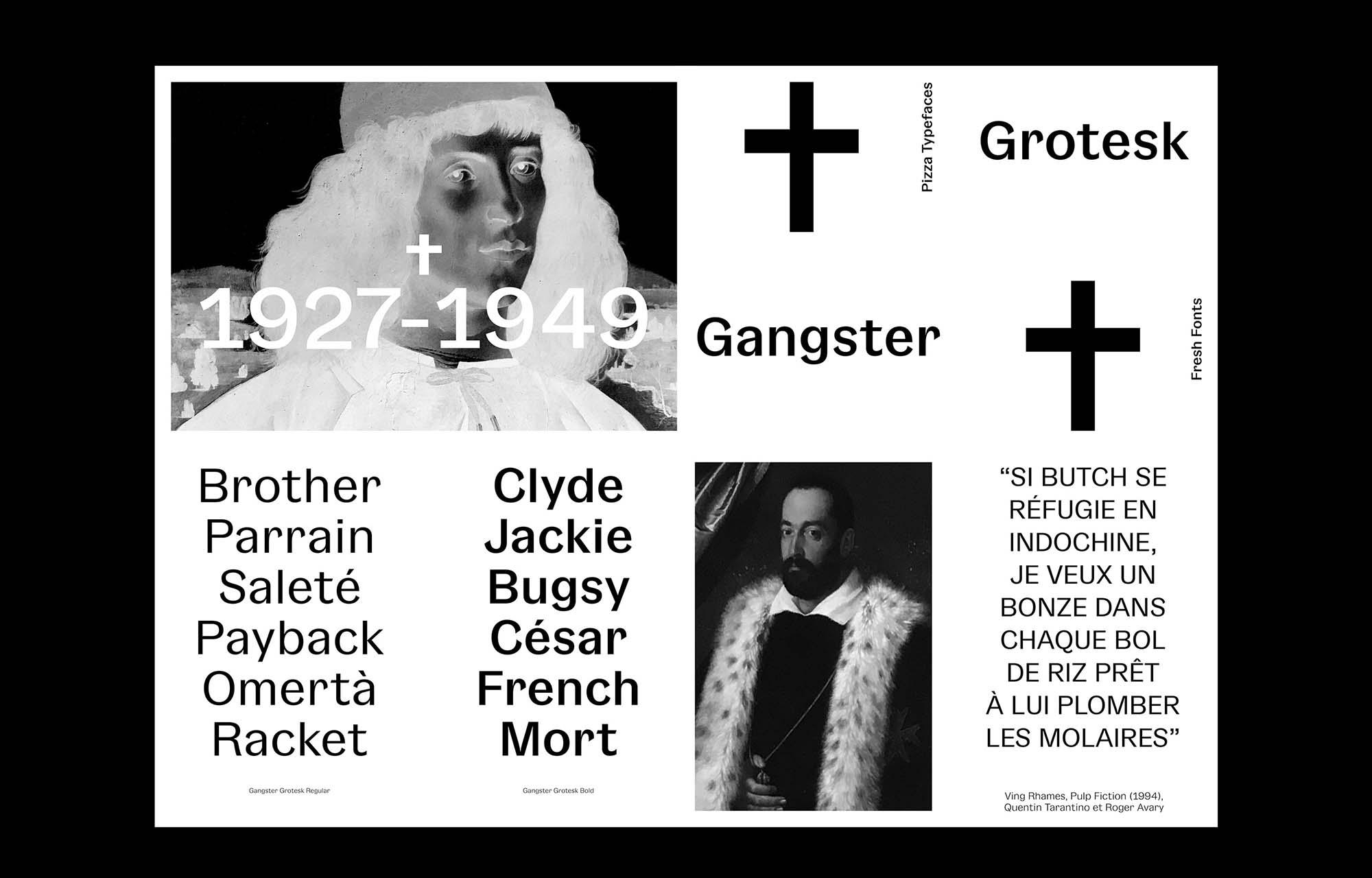 Gangster Grotesk Typeface 1