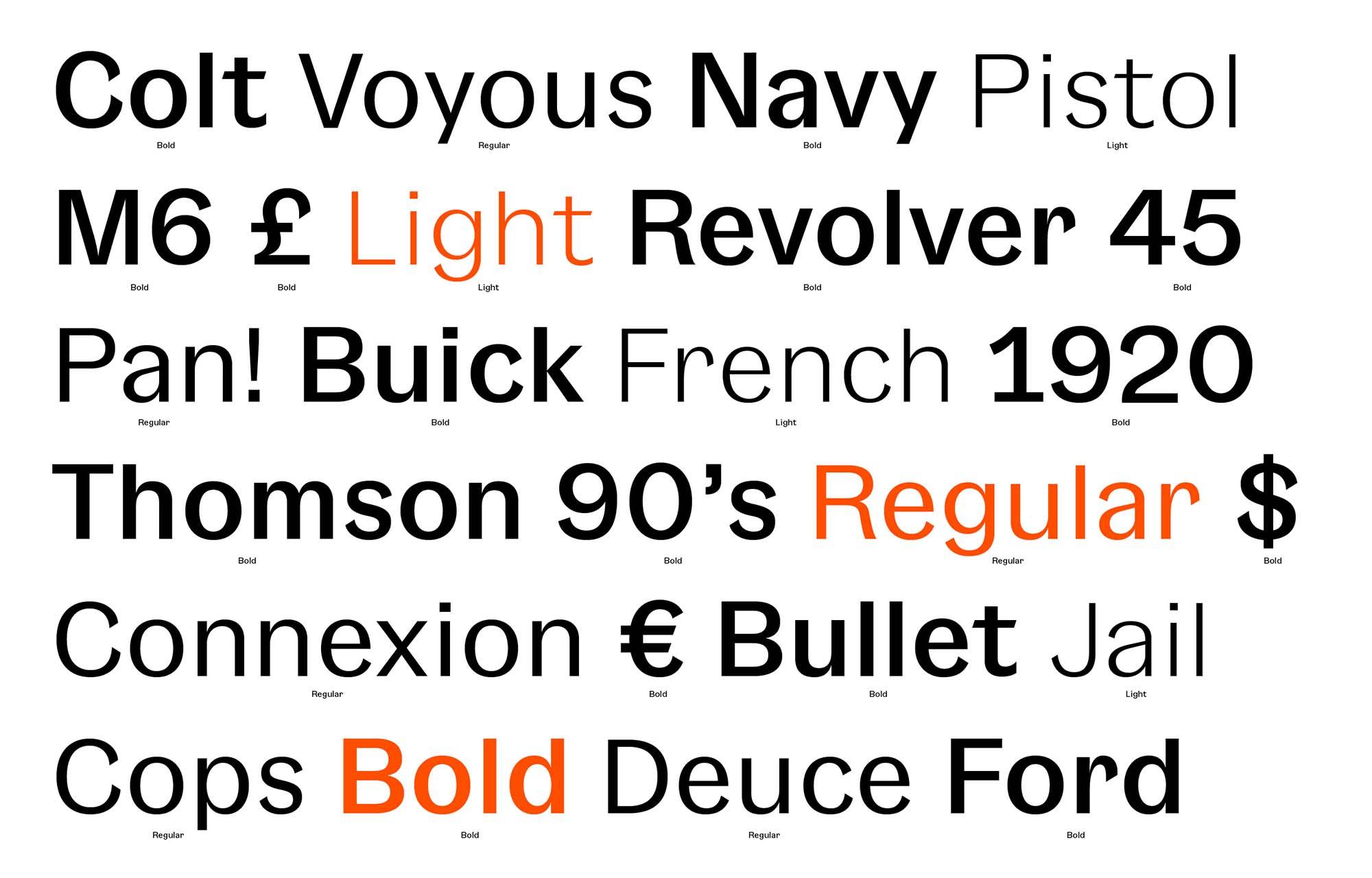Gangster Grotesk Typeface Lowercase