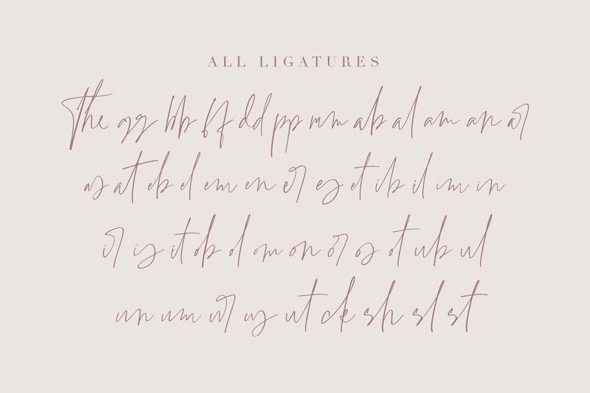 Grandiose Font Lowercase