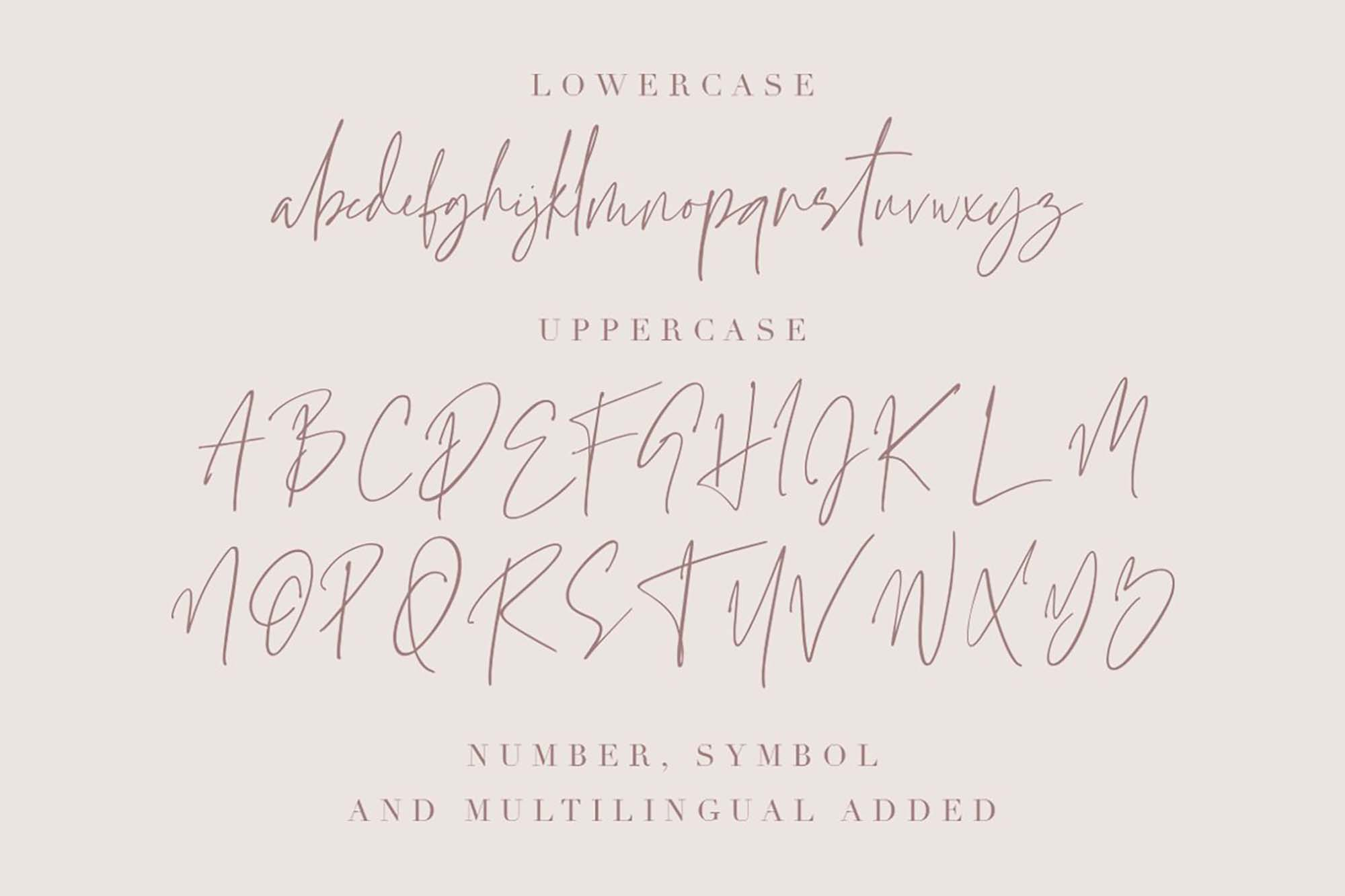 Grandiose Font Letters