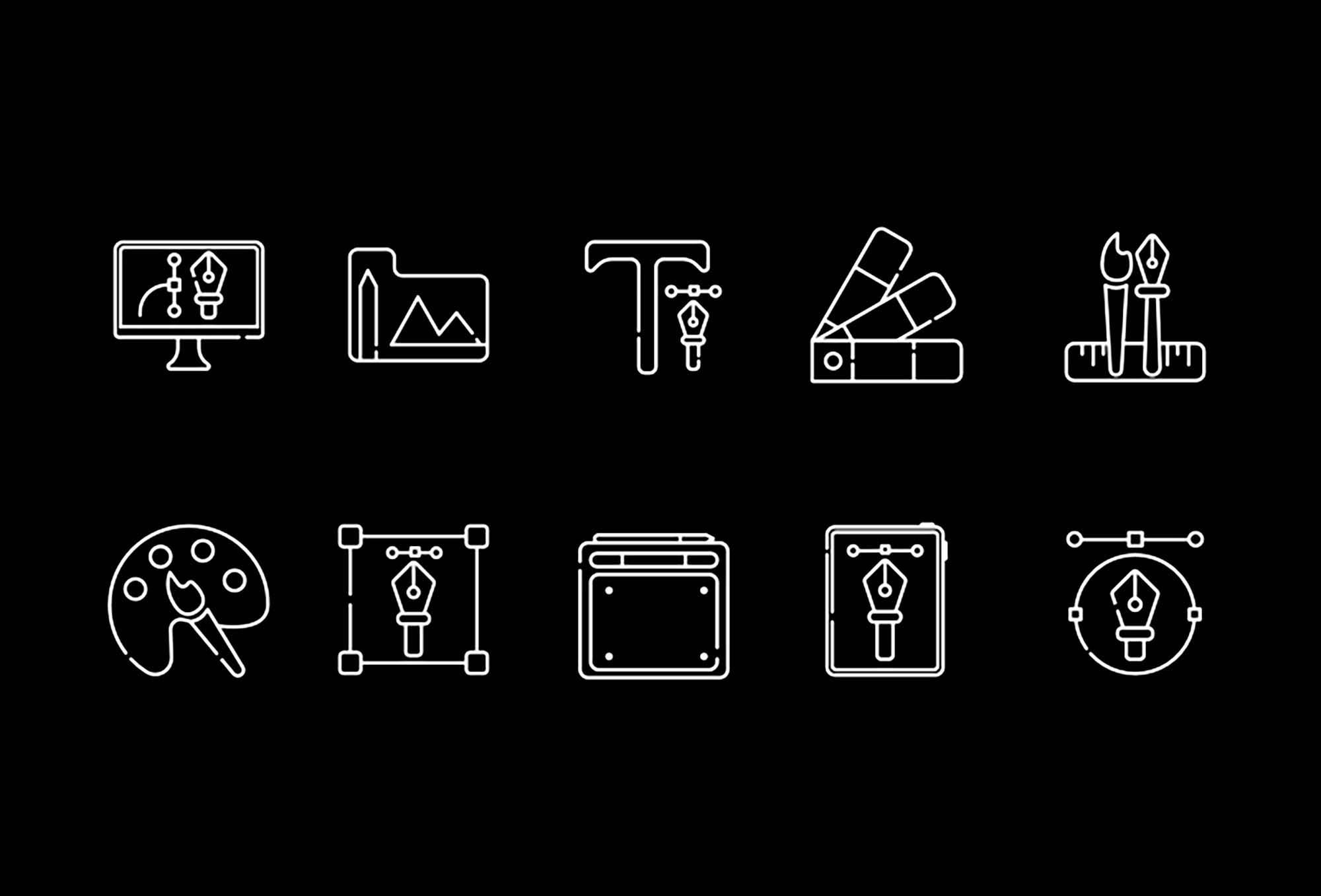 Graphic Design Icons 2