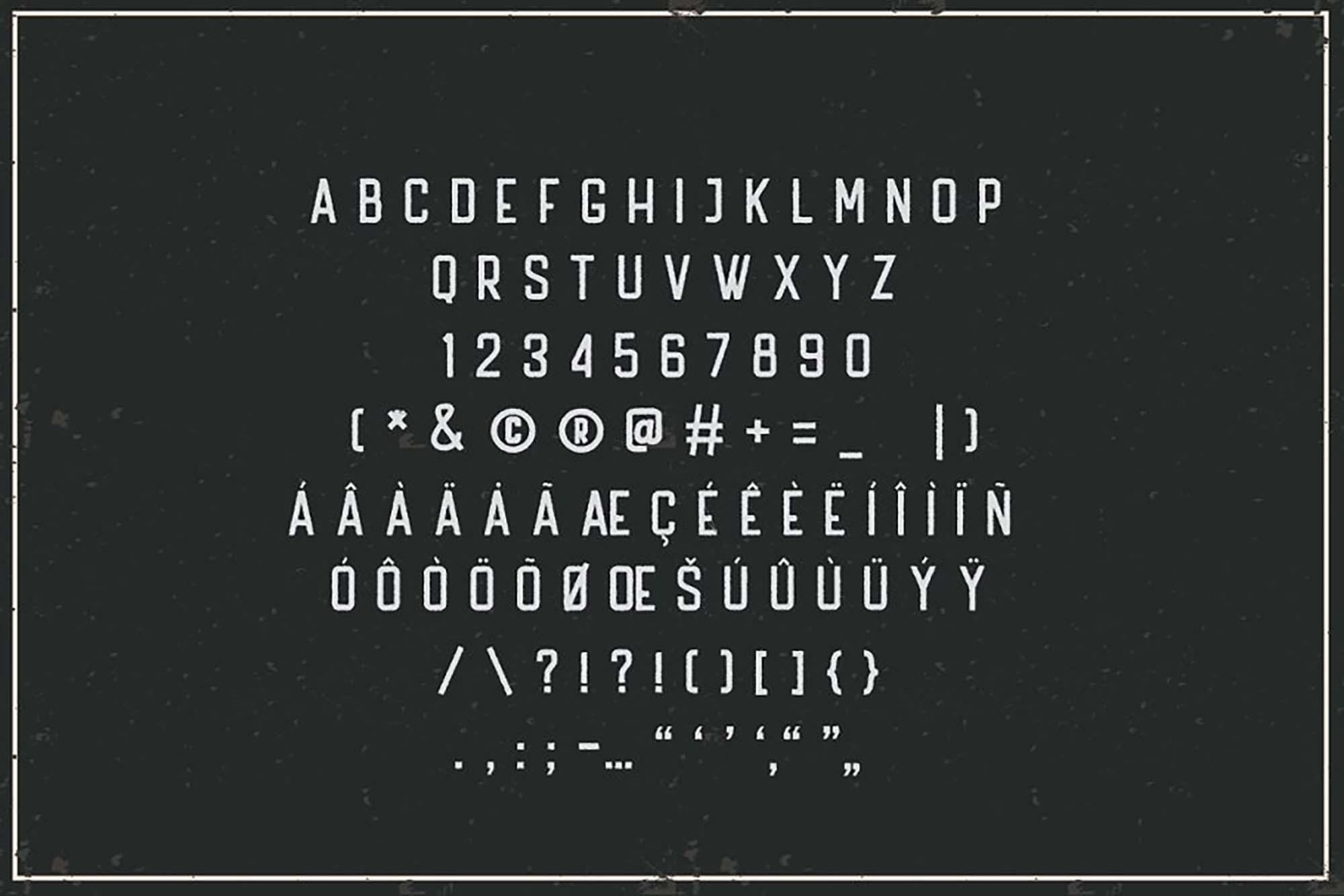 Handler Vintage Font 5