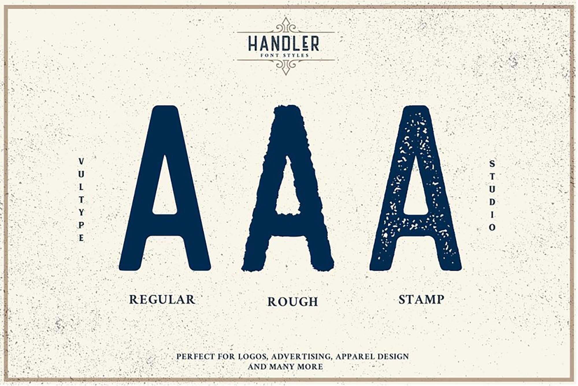 Handler Vintage Font 6