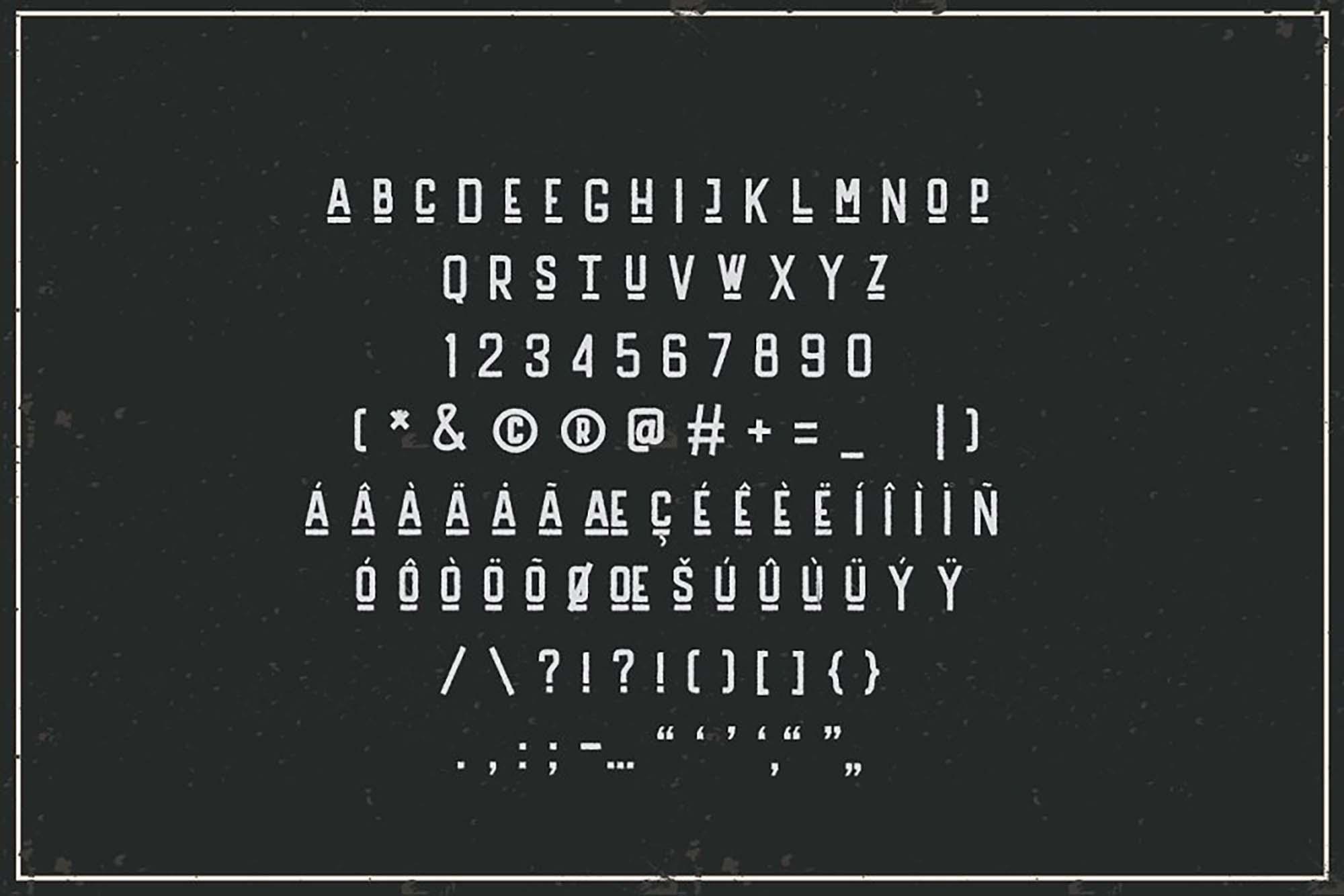 Handler Vintage Font 7