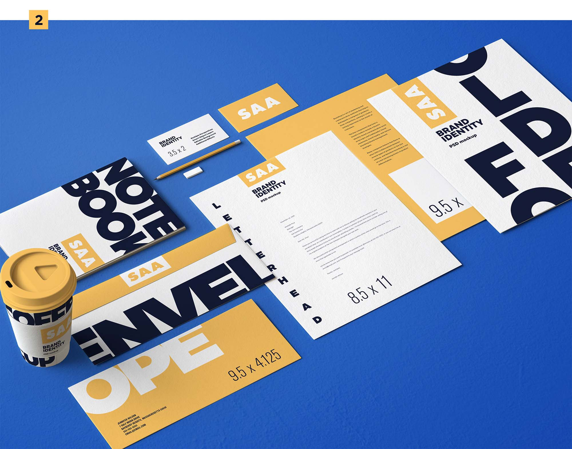 Identity Design Mockup 2