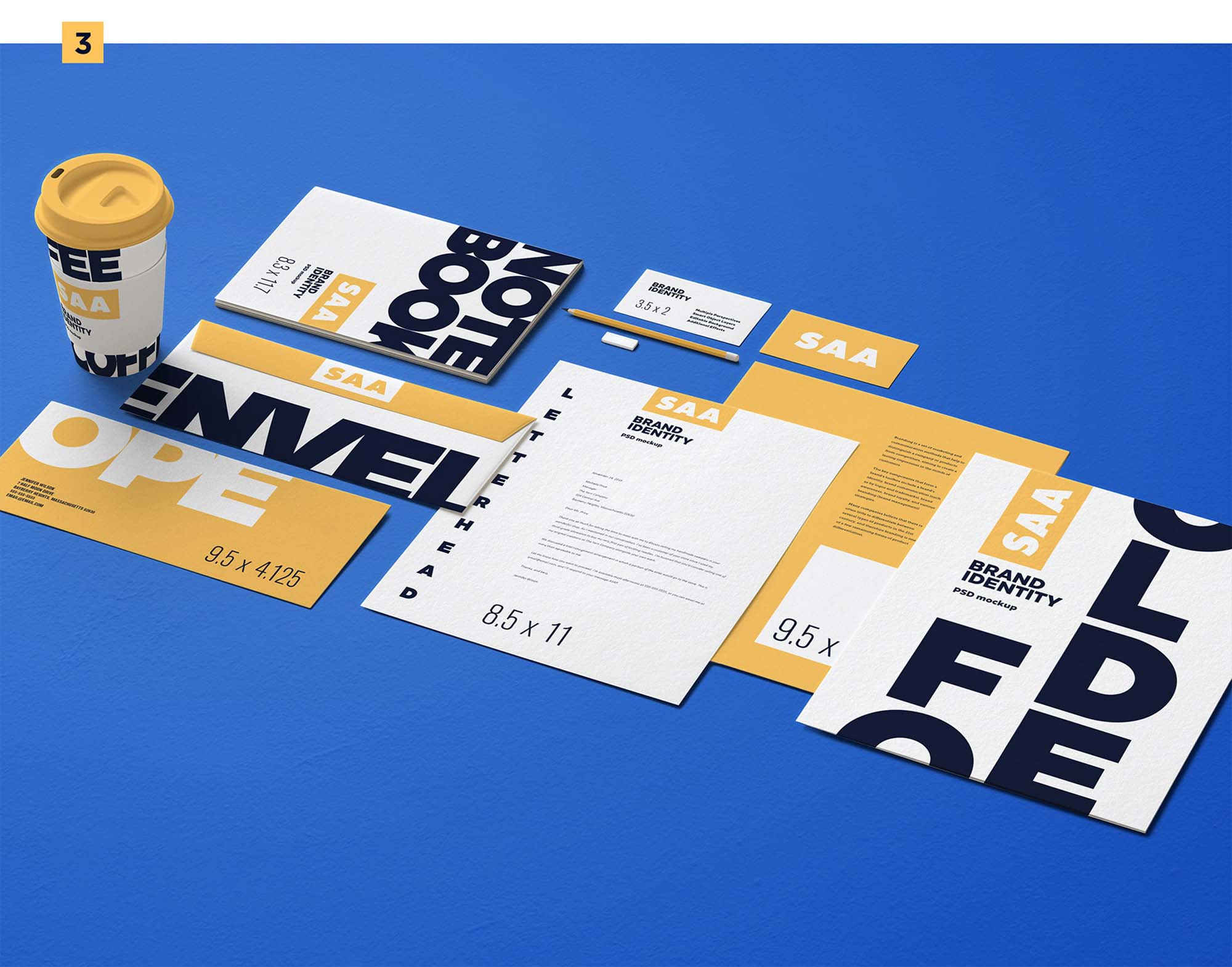 Identity Design Mockup 3