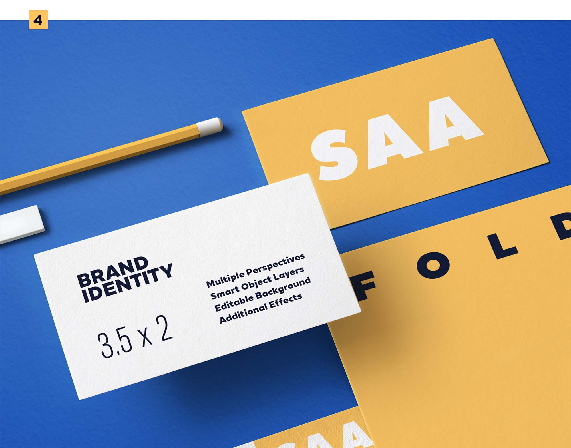 Identity Design Mockup 4