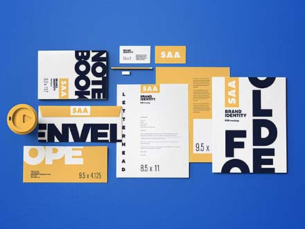 Identity Design Mockup