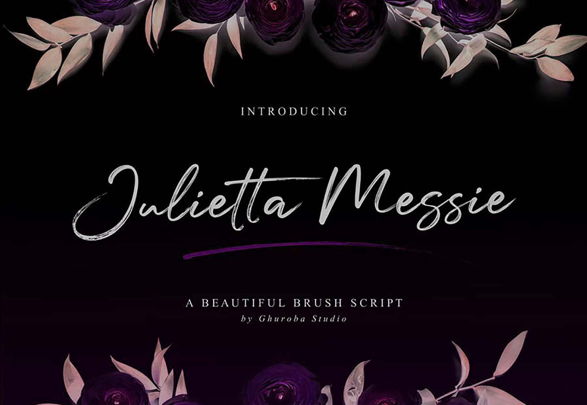 Julietta Messie Font 4