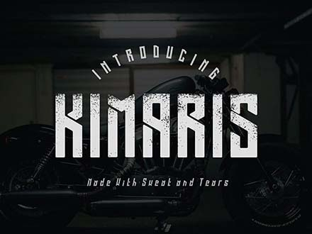 Kimaris Display Font