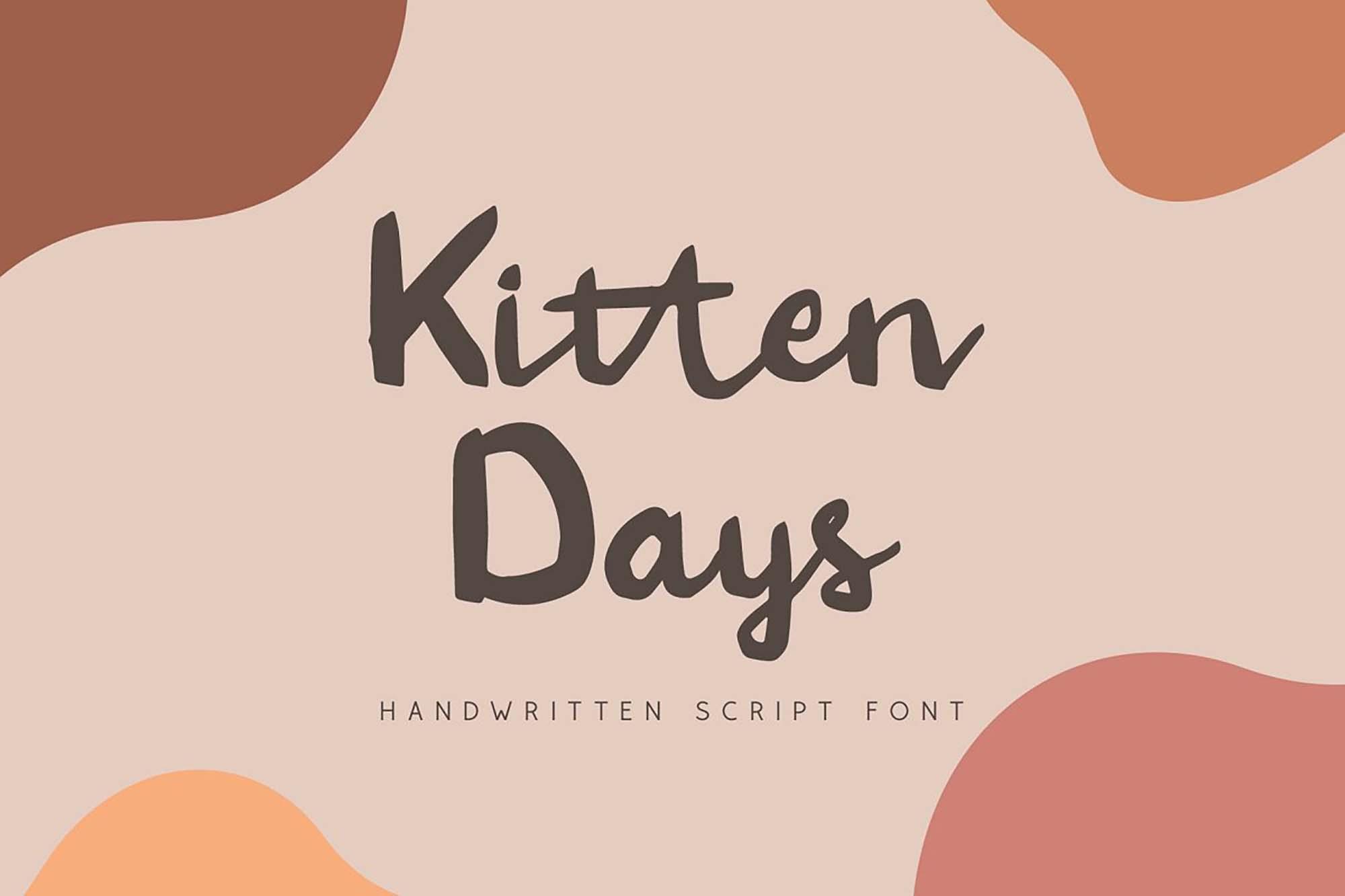 Kitten Days Font