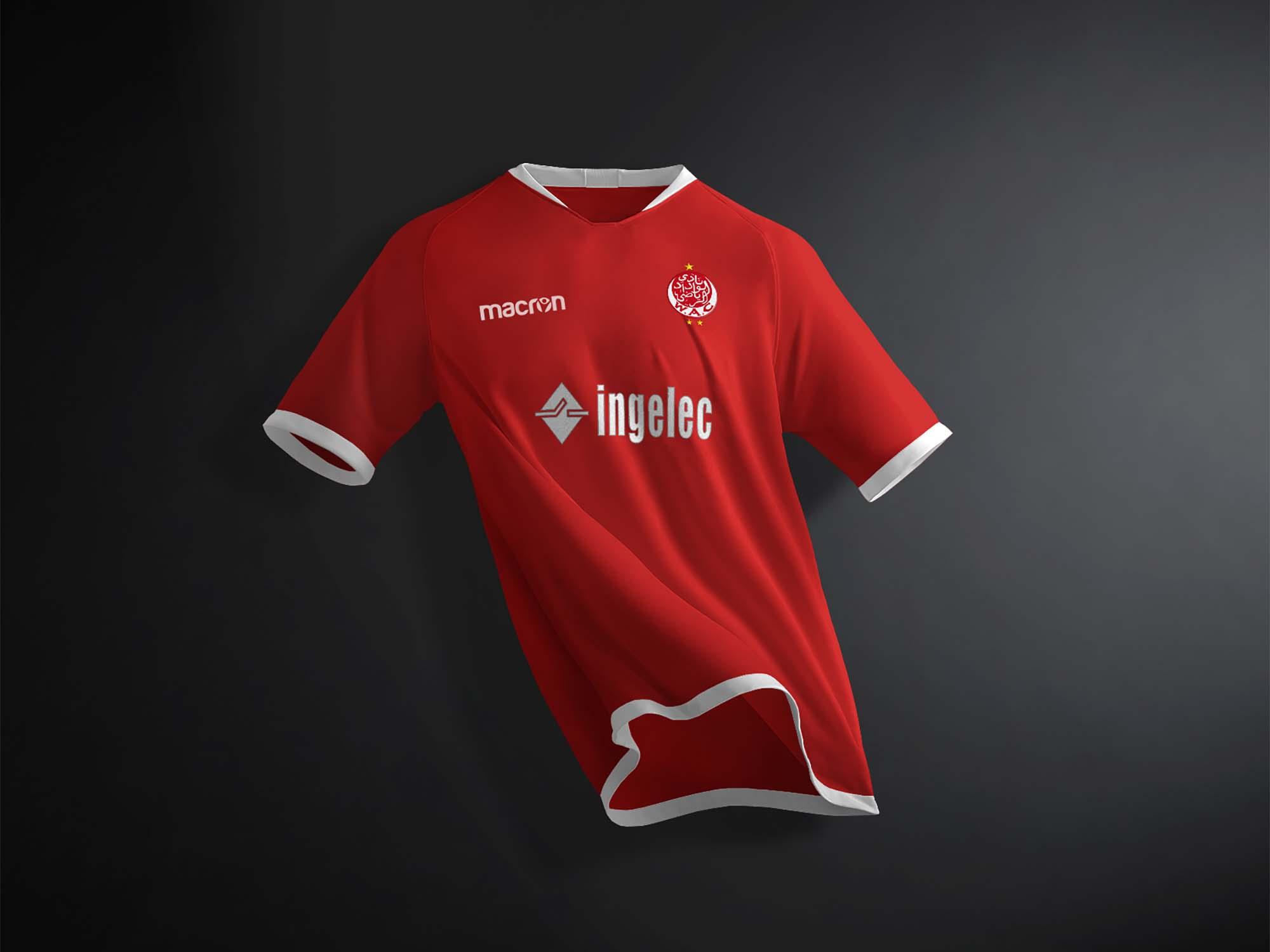 Nike Soccer T-Shirt Mockup