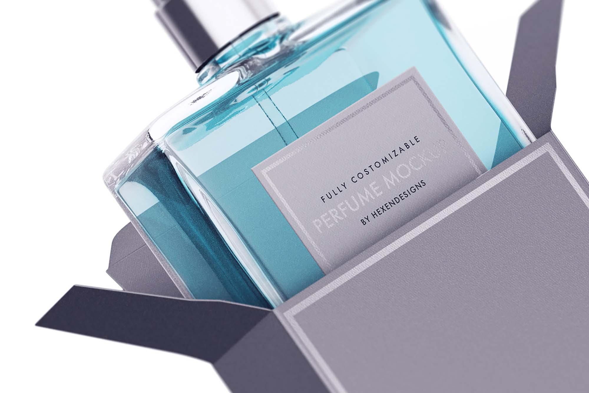 Perfume Package Mockup 1
