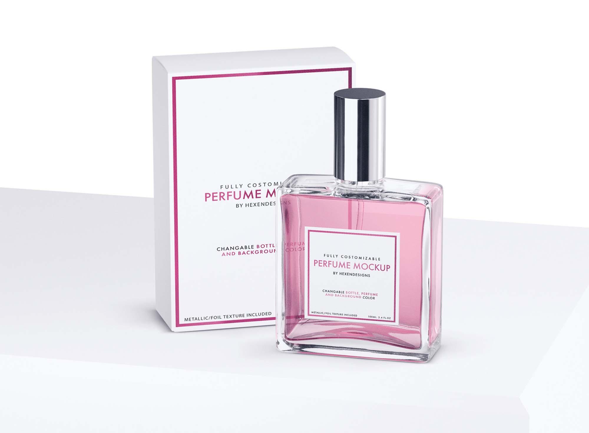 Perfume Package Mockup 4