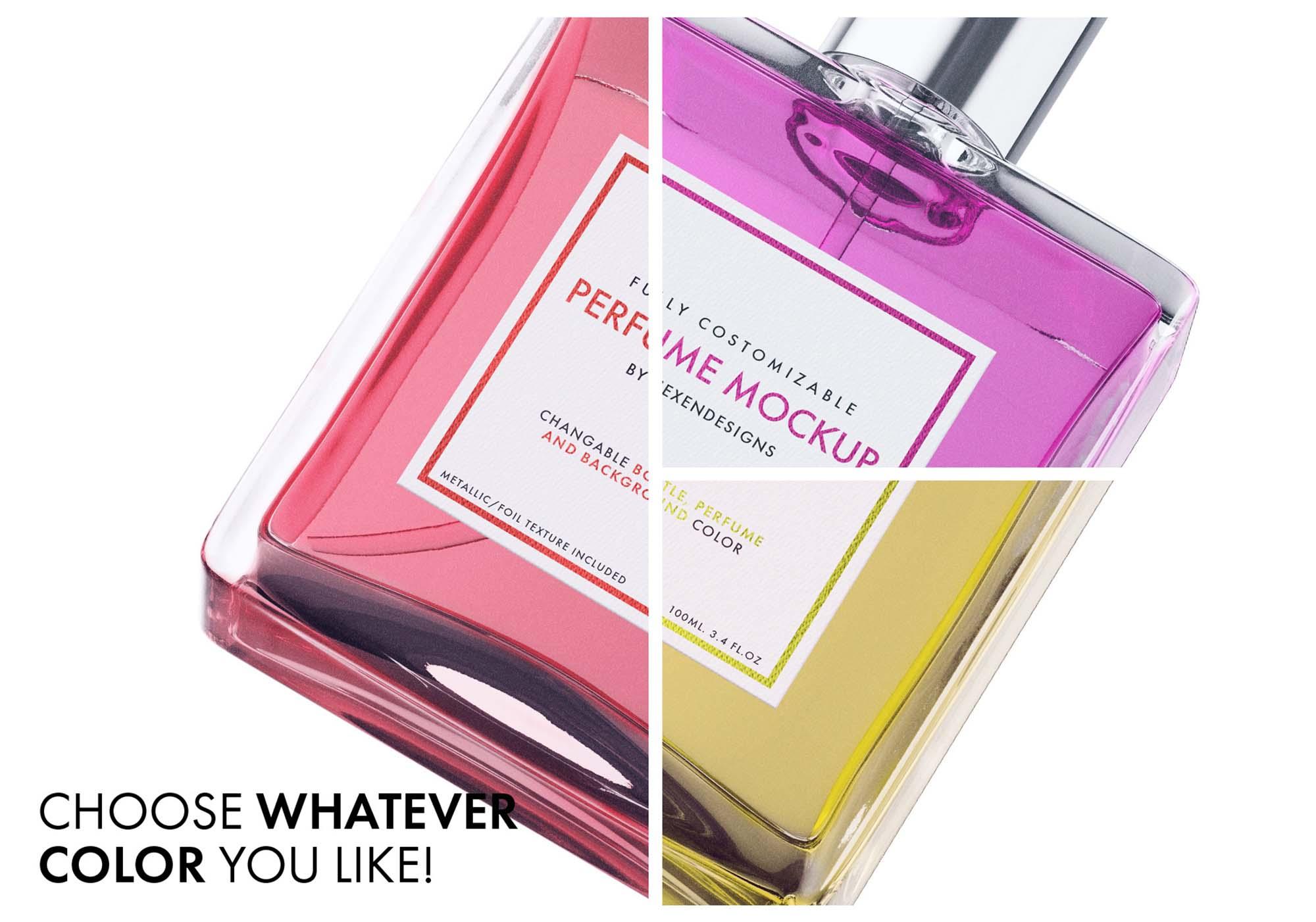 Perfume Package Mockup 8