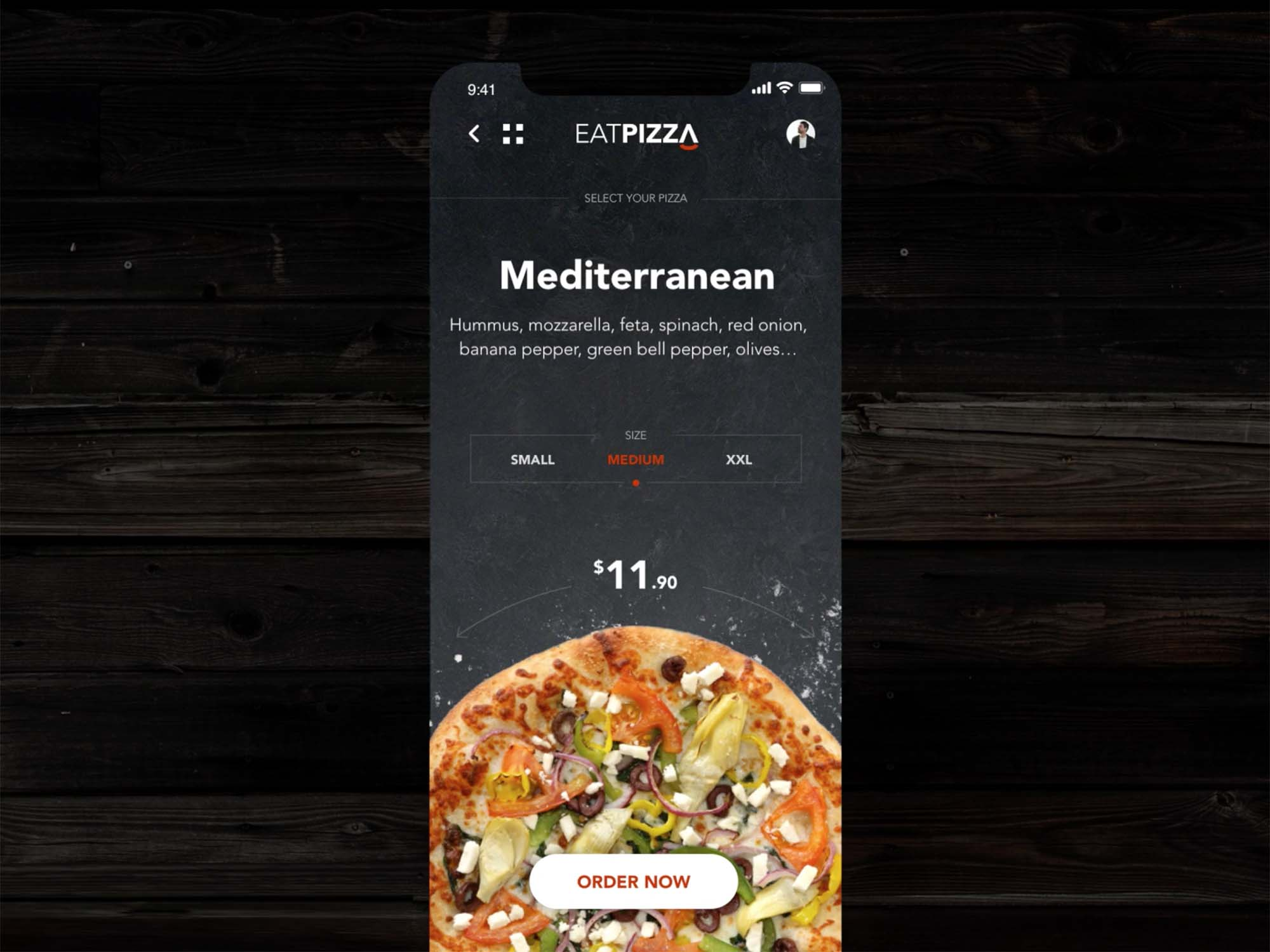 Pizza App Template