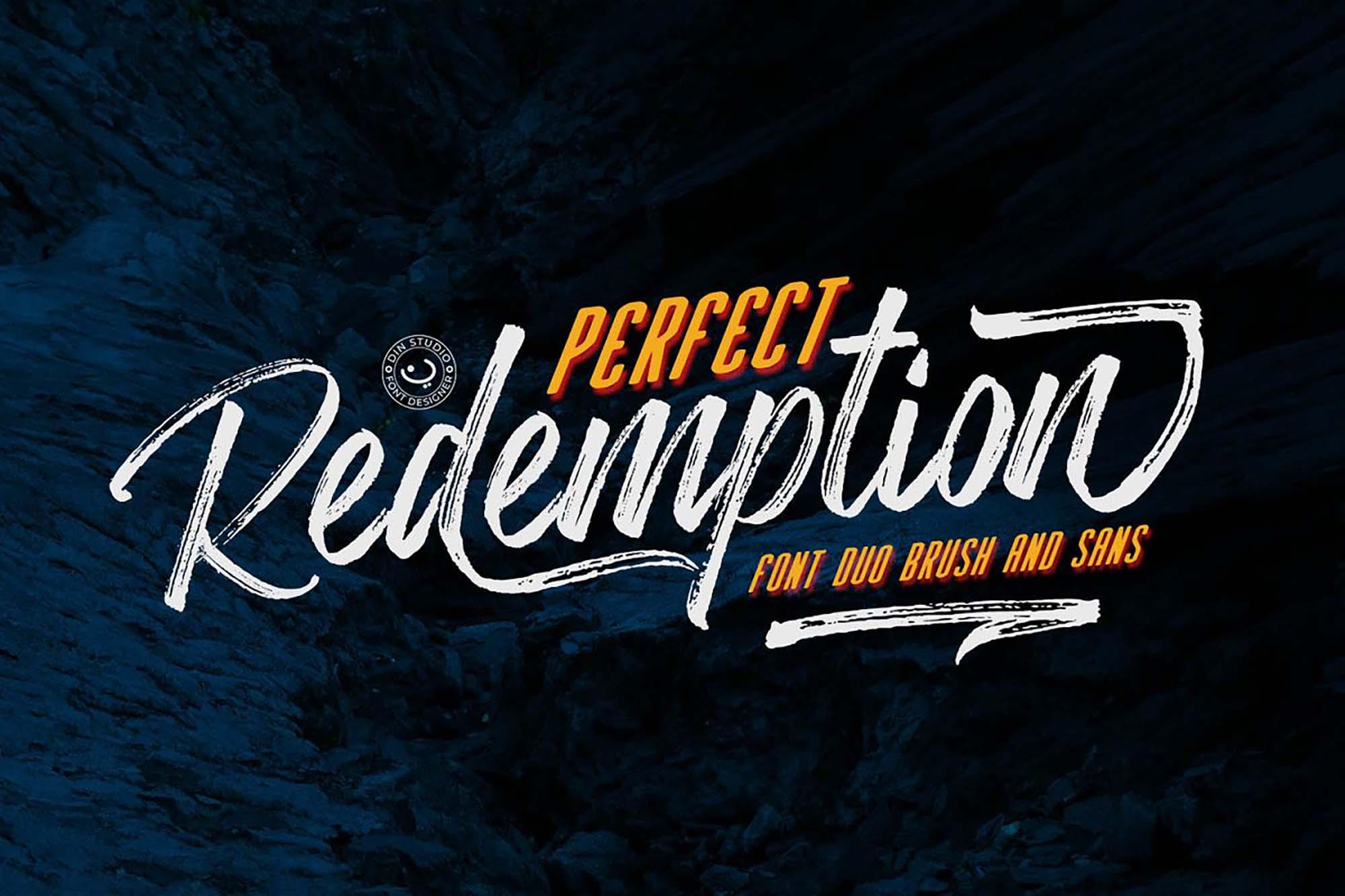 Redemption Script Font