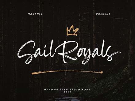 Sail Royals Font