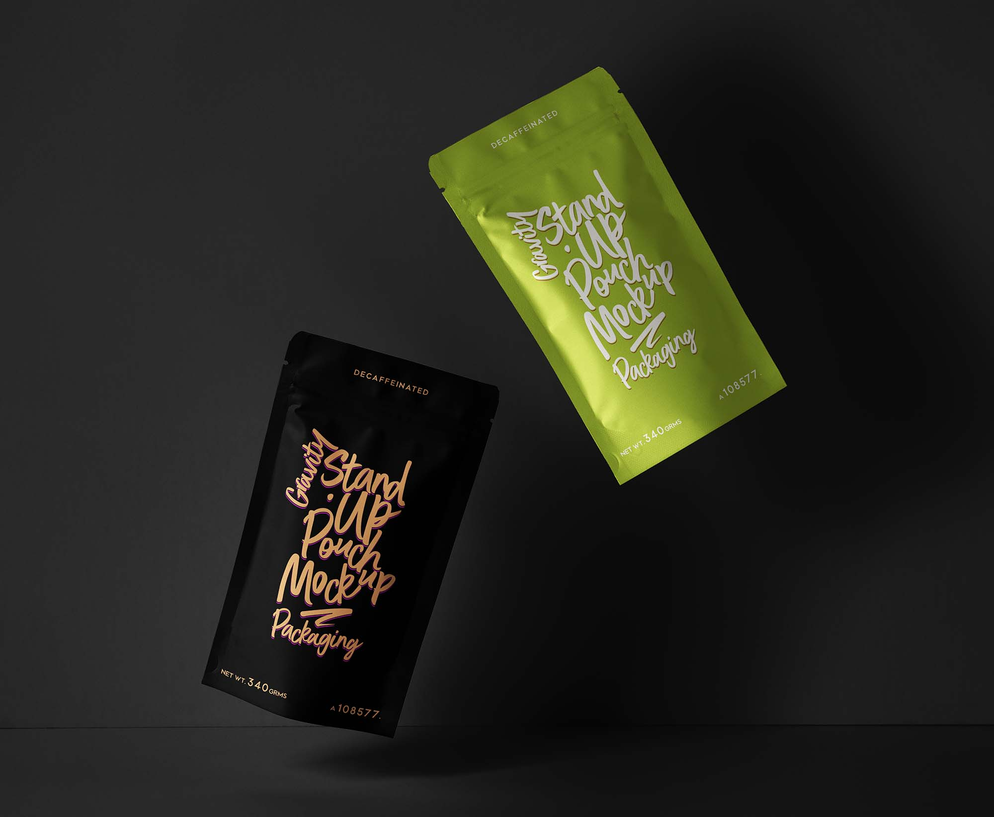 Stand-Up Pouch Packaging Mockup 2