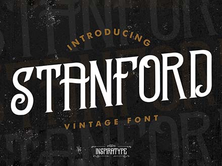 Standford Vintage Font