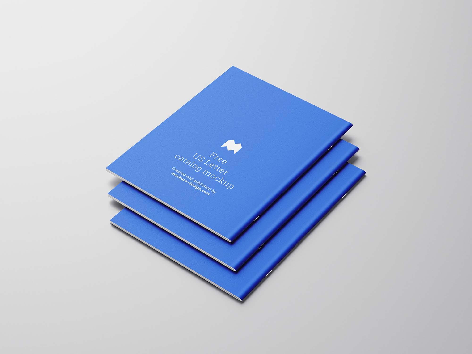 US Letter Catalog Mockup 4