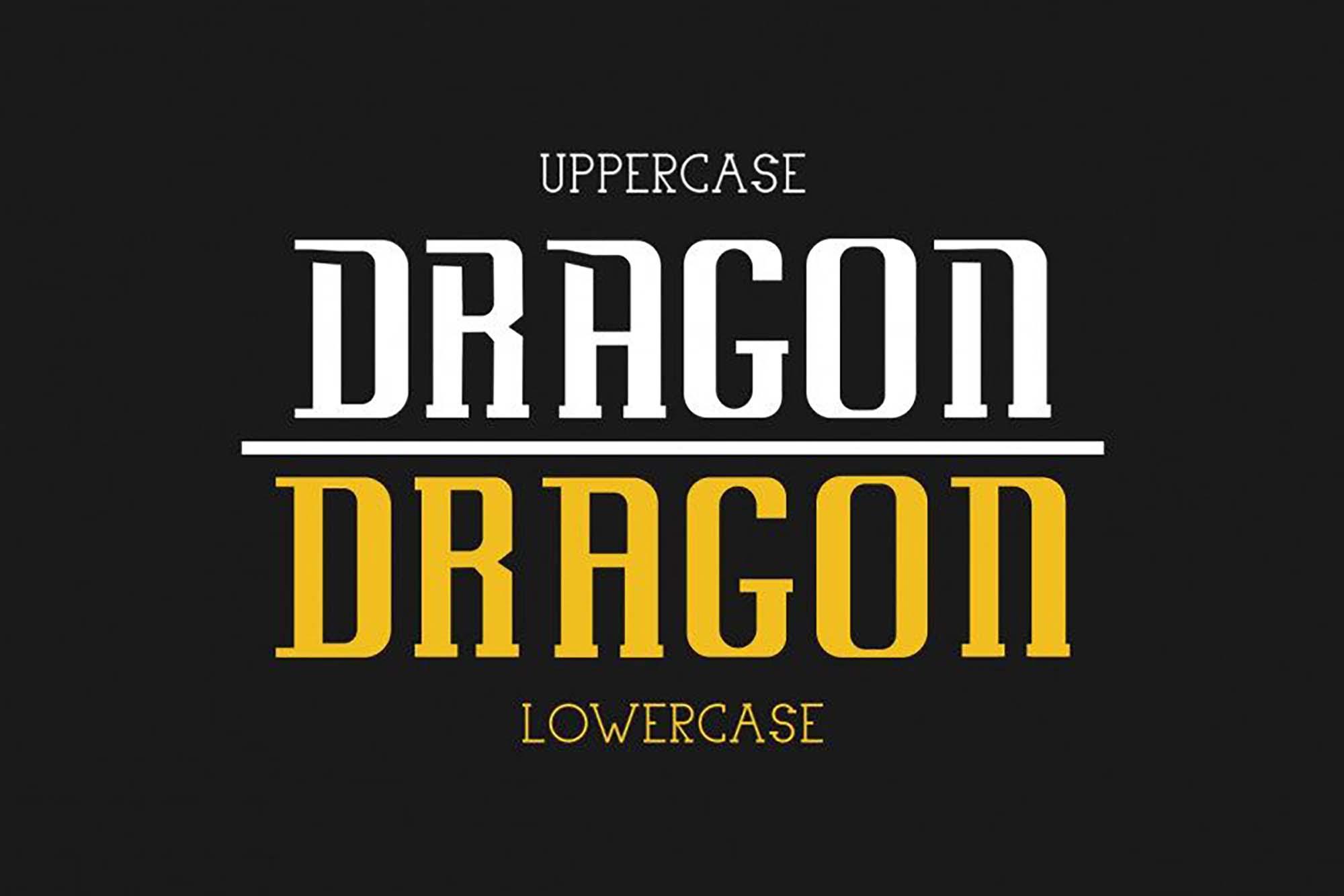 Uovo Di Drago Font 4