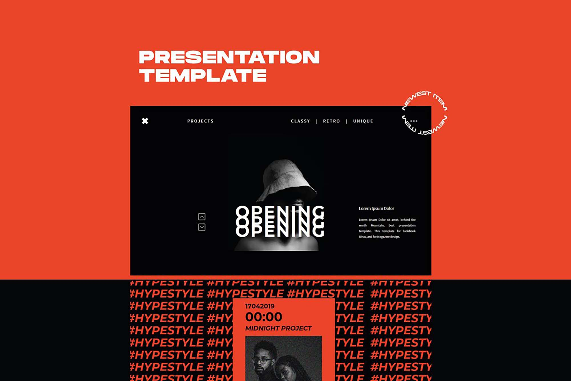 XGDragon PowerPoint Presentation Template 5