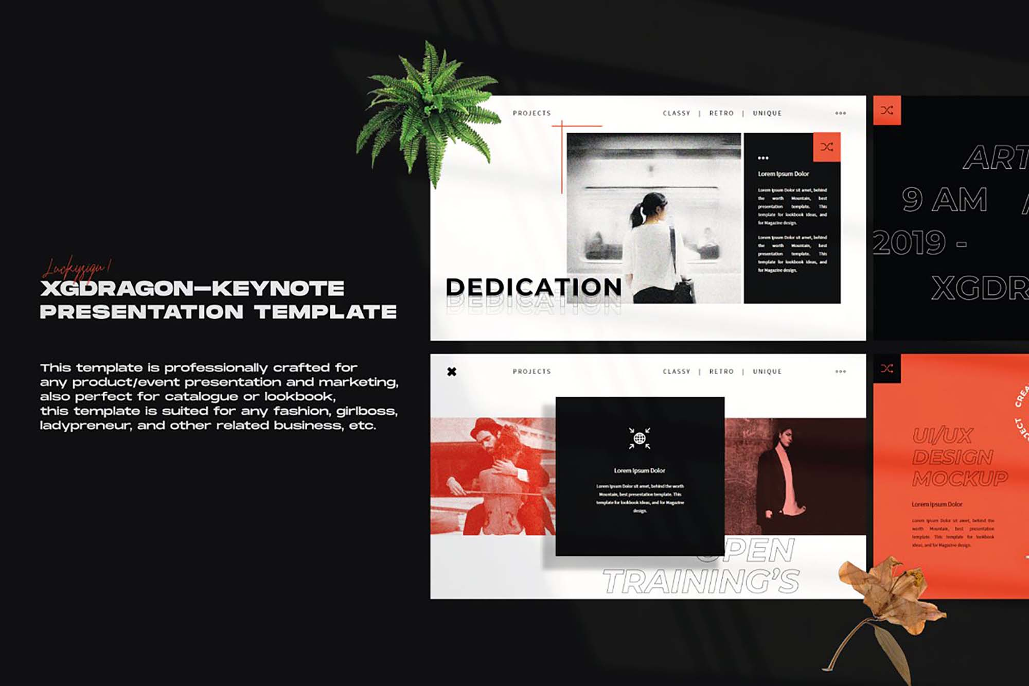XGDragon PowerPoint Presentation Template 6