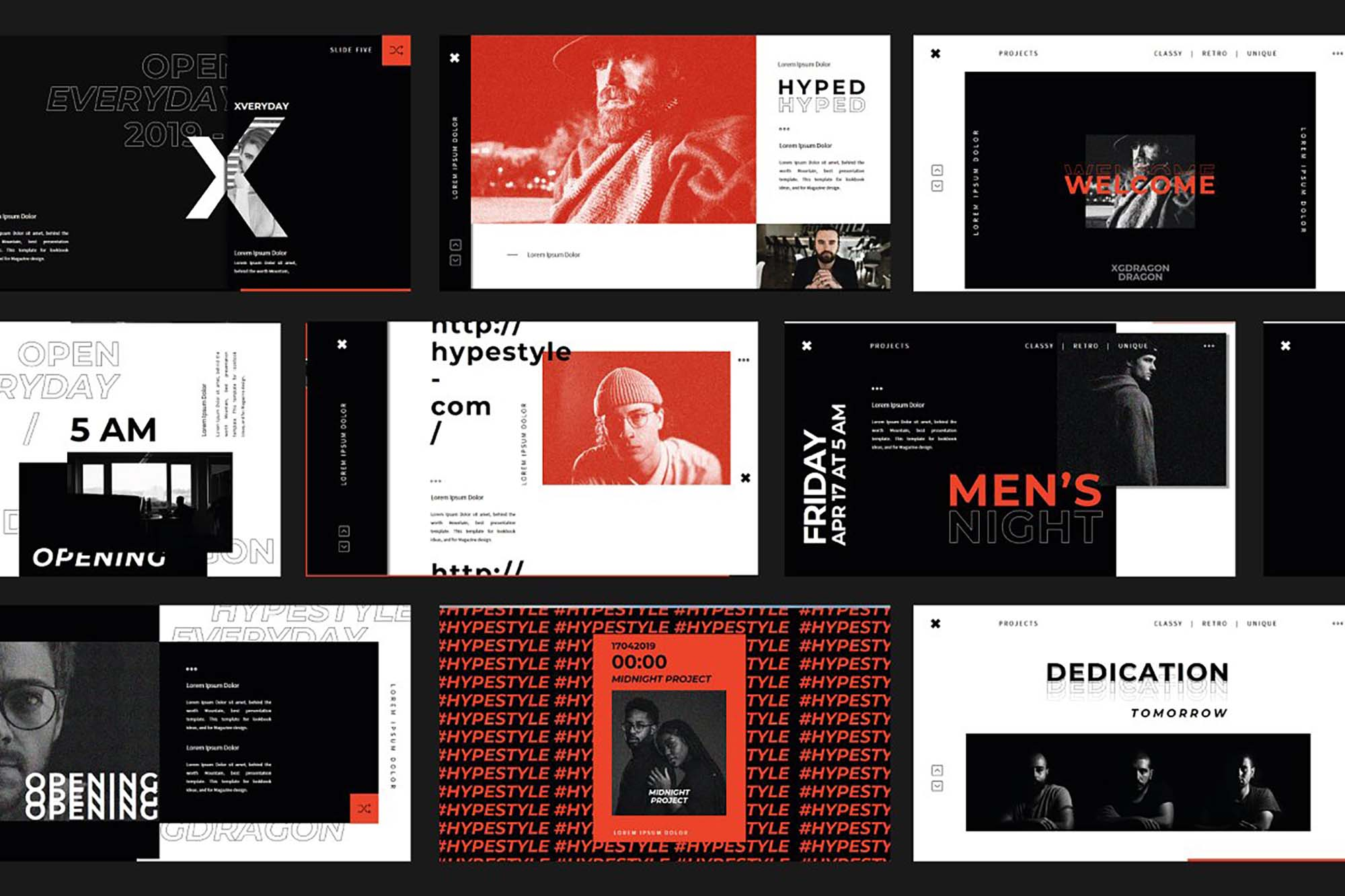 XGDragon PowerPoint Presentation Template 7